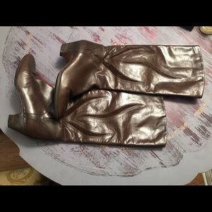 Stunning Brown Leather Vintage Bally Boots